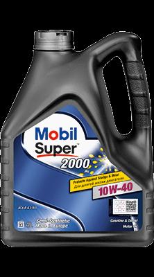 Mobil Super 2000 Х1, 10W40, 1л. Масло моторное полусинтетическое