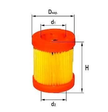 Фильтр воздушный DIFA 4263