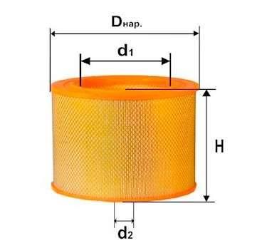 Фильтр воздушный DIFA 4304