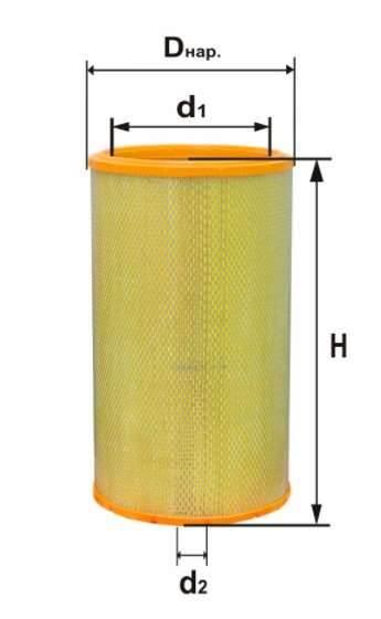 Фильтр воздушный DIFA 4305М-01