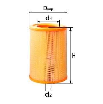 Фильтр воздушный DIFA 4307