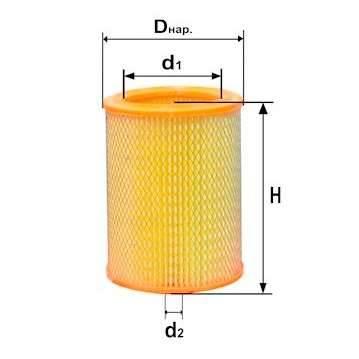 Фильтр воздушный DIFA 4309-01