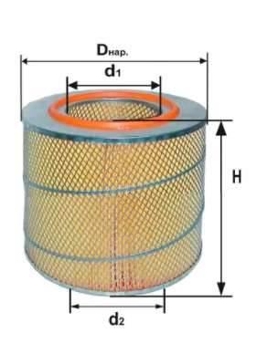 Фильтр воздушный DIFA 4309МК