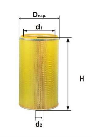 Фильтр воздушный DIFA 4309МК-01