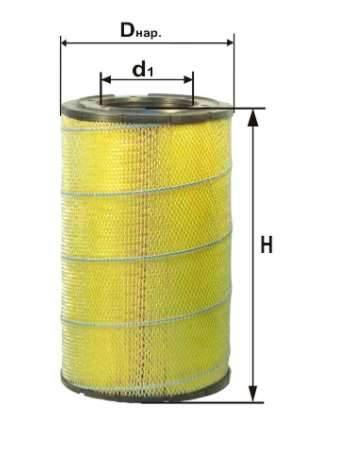 Фильтр воздушный DIFA 43100