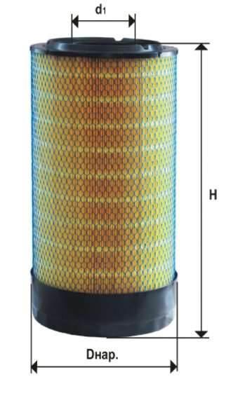 Фильтр воздушный DIFA 43103