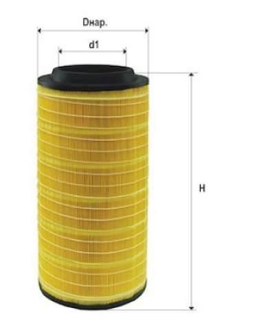 Фильтр воздушный DIFA 43109К