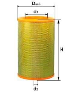 Фильтр воздушный DIFA 4311
