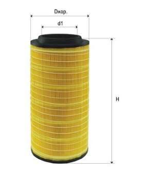 Фильтр воздушный DIFA 43118