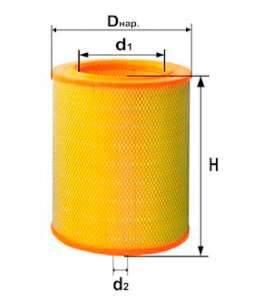 Фильтр воздушный DIFA 4312