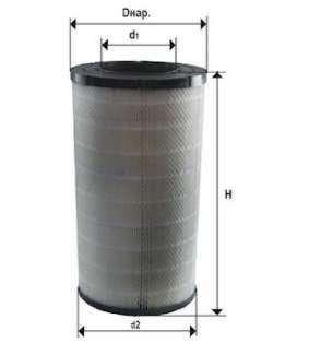 Фильтр воздушный DIFA 43120