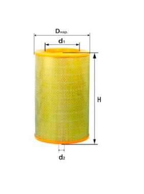 Фильтр воздушный DIFA 4313