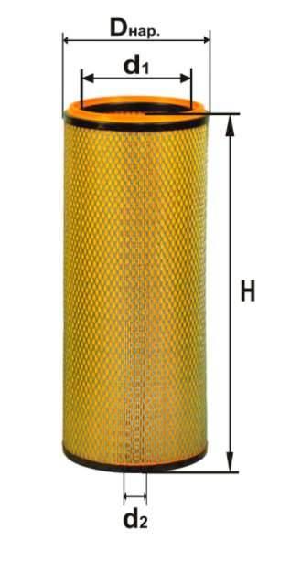 Фильтр воздушный DIFA 4313.1-01