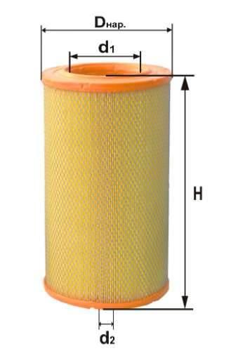 Фильтр воздушный DIFA 4316