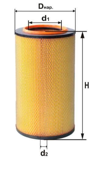 Фильтр воздушный DIFA 4316M
