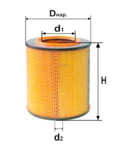 Фильтр воздушный DIFA 4317М