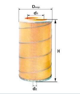 Фильтр воздушный DIFA 4319МК