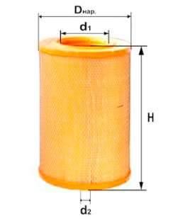 Фильтр воздушный DIFA 4320