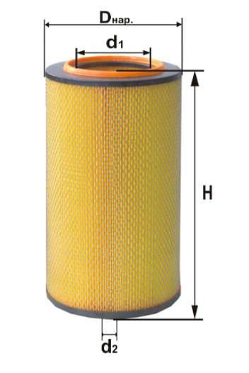 Фильтр воздушный DIFA 4320М
