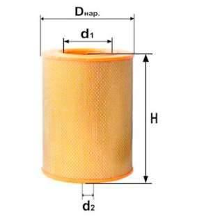 Фильтр воздушный DIFA 4322