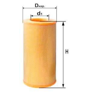 Фильтр воздушный DIFA 4323
