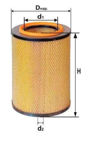 Фильтр воздушный DIFA 4324M