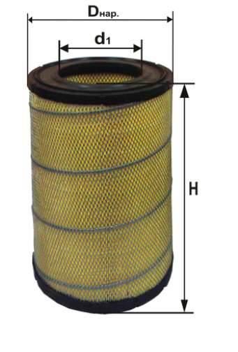 Фильтр воздушный DIFA 4325