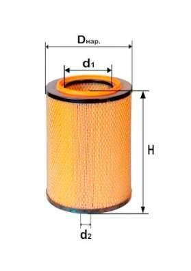 Фильтр воздушный DIFA 4326M