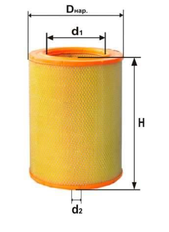 Фильтр воздушный DIFA 4328