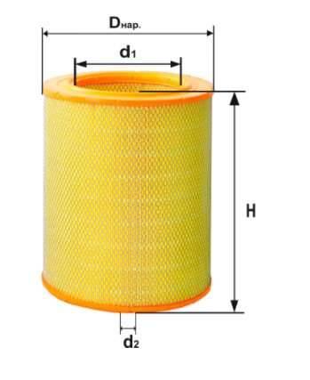 Фильтр воздушный DIFA 4333