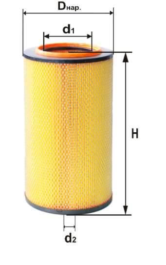 Фильтр воздушный DIFA 4335