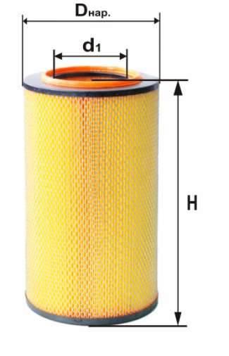 Фильтр воздушный DIFA 4336M