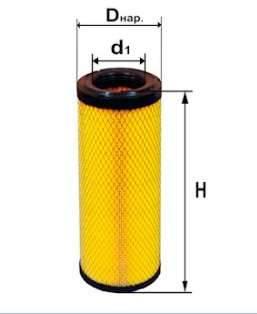 Фильтр воздушный DIFA 4338