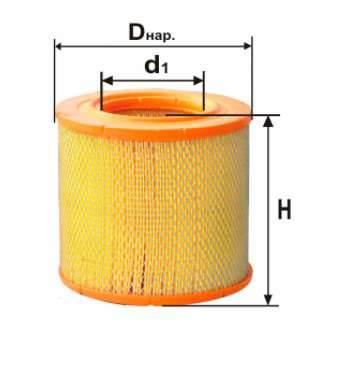 Фильтр воздушный DIFA 4340