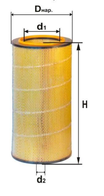 Фильтр воздушный DIFA 4342МК