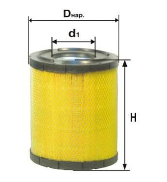 Фильтр воздушный DIFA 4349