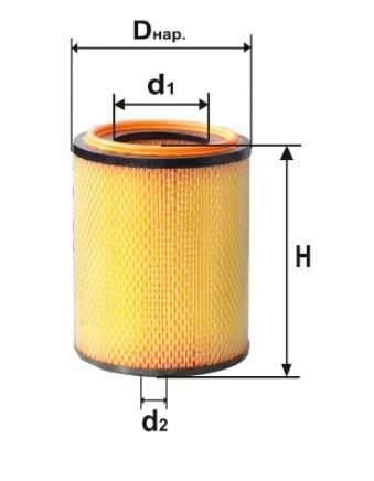 Фильтр воздушный DIFA 4350M