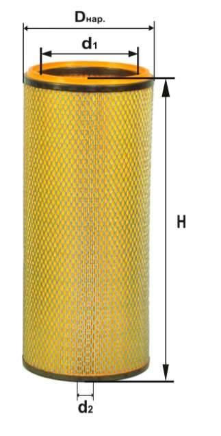 Фильтр воздушный DIFA 4355МК-01