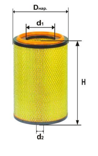 Фильтр воздушный DIFA 4357М