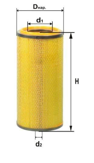 Фильтр воздушный DIFA 4360М