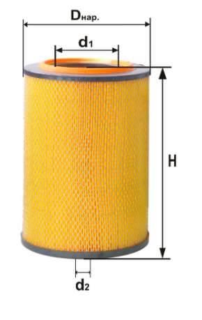 Фильтр воздушный DIFA 4362М