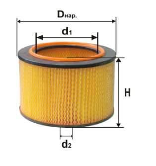 Фильтр воздушный DIFA 4364М