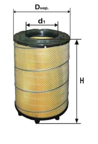 Фильтр воздушный DIFA 4365