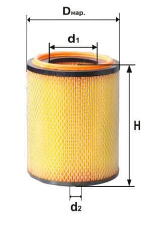 Фильтр воздушный DIFA 4372М
