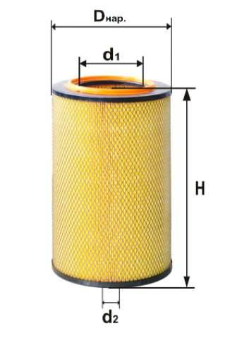 Фильтр воздушный DIFA 4381М