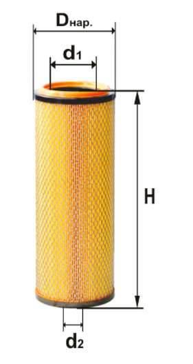 Фильтр воздушный DIFA 4381М-01