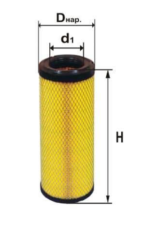 Фильтр воздушный DIFA 4382