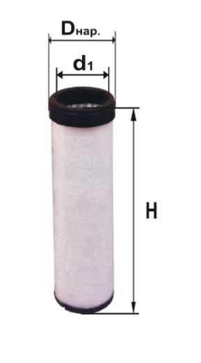 Фильтр воздушный DIFA 4382-01