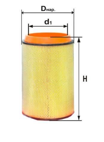 Фильтр воздушный DIFA 4384М