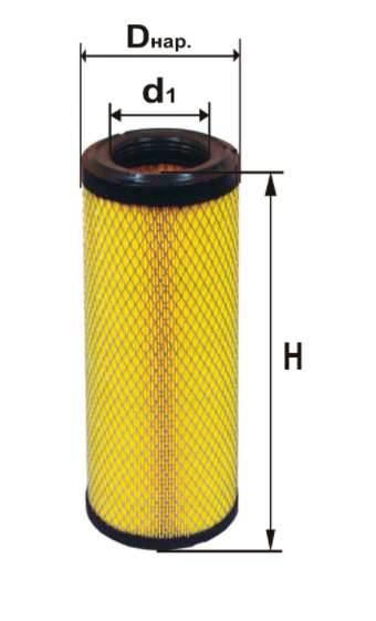Фильтр воздушный DIFA 4386